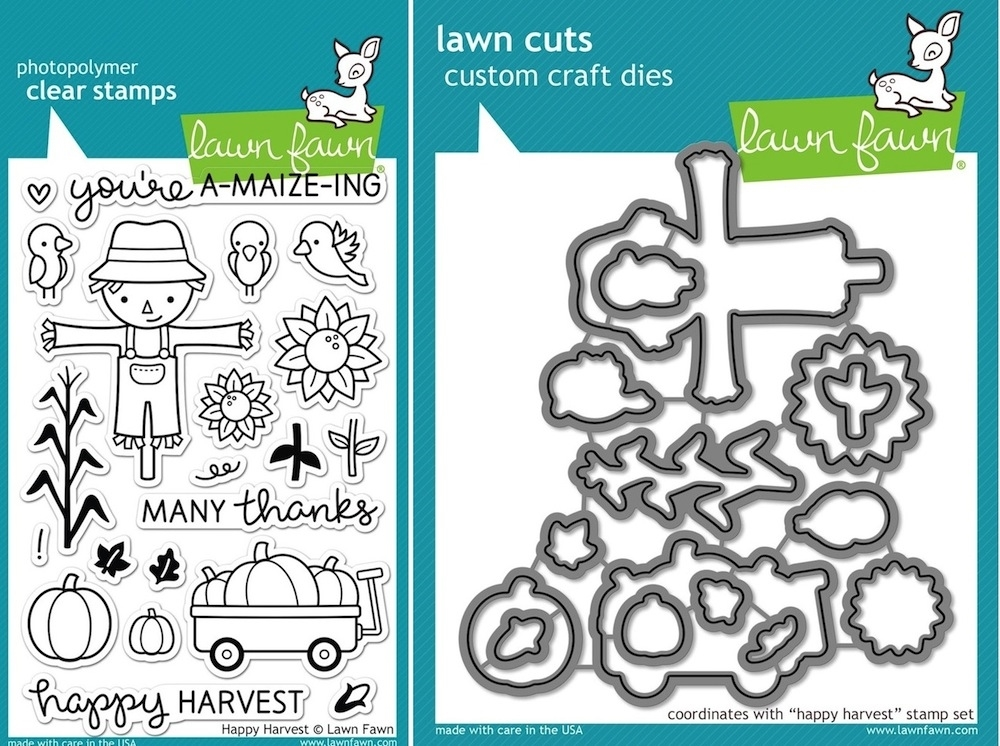 Lawn Fawn SET LF15SETHH SCARECROW Clear Stamps and Dies zoom image
