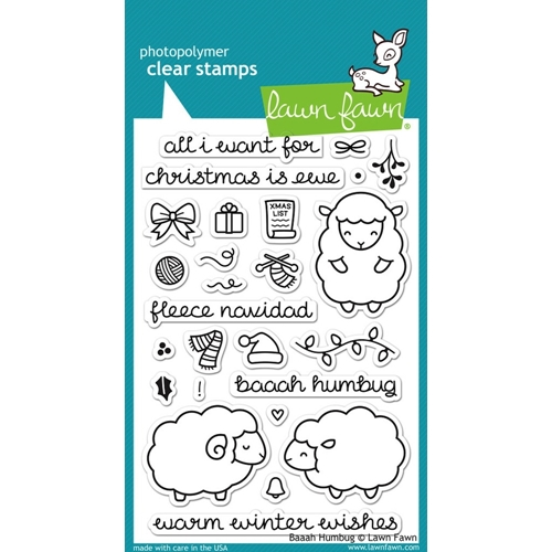 Lawn Fawn BAAAH HUMBUG Clear Stamps LF939 Preview Image