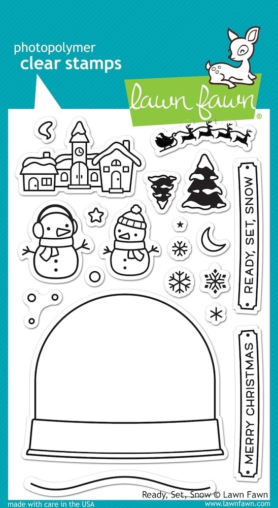 Lawn Fawn READY SET SNOW Clear Stamps LF973 zoom image