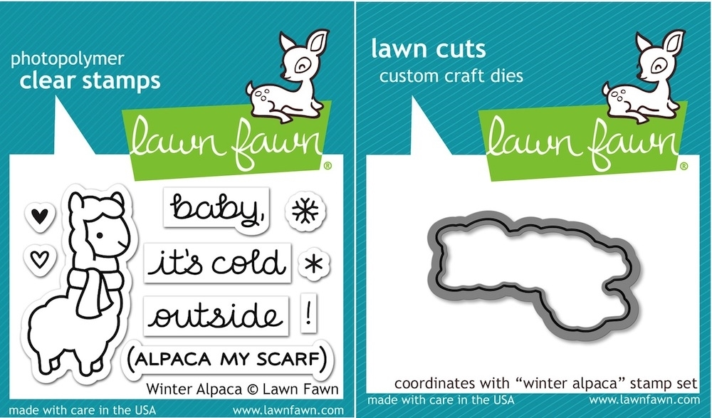 Lawn Fawn SET LF15SETWA COLD OUTSIDE Clear Stamps and Dies zoom image