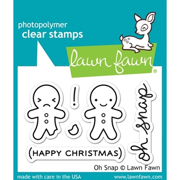 Lawn Fawn OH SNAP Clear Stamps LF983