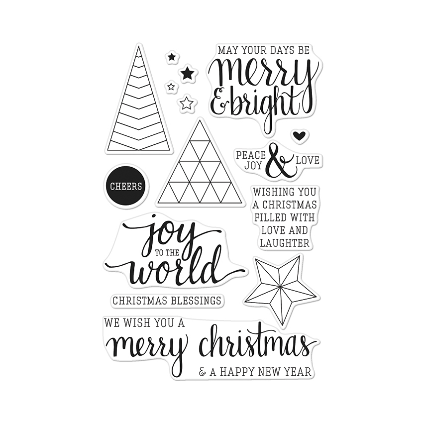 Hero Arts Clear Stamps JOY TO THE WORLD CL881 zoom image