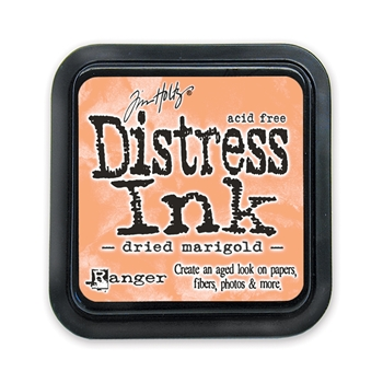 Distress ink pad Dried Marigold