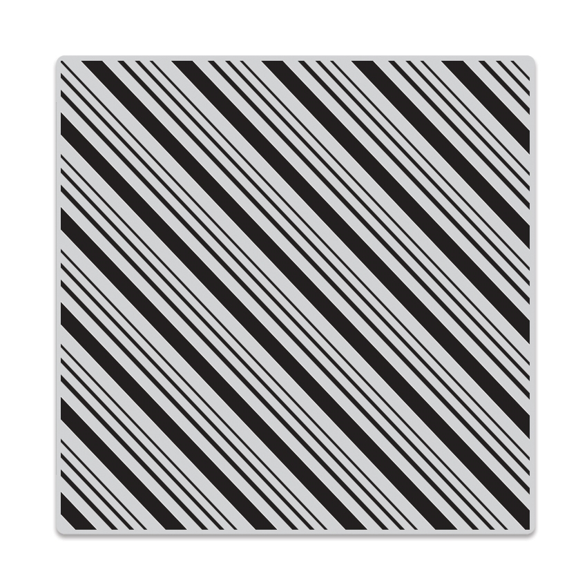 Hero Arts Cling Stamps CANDY STRIPE Bold Prints CG681  zoom image