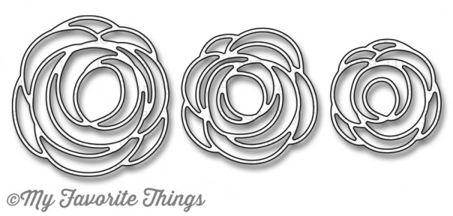 My Favorite Things SCRIBBLE ROSES OVERLAY Die-Namics MFT744 zoom image