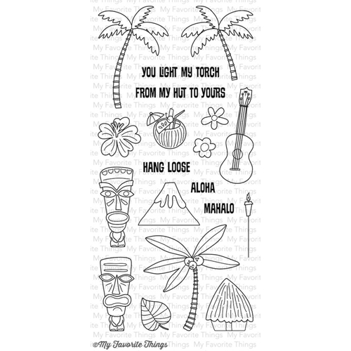 My Favorite Things TIKI PARTY Clear Stamps CS78 Preview Image