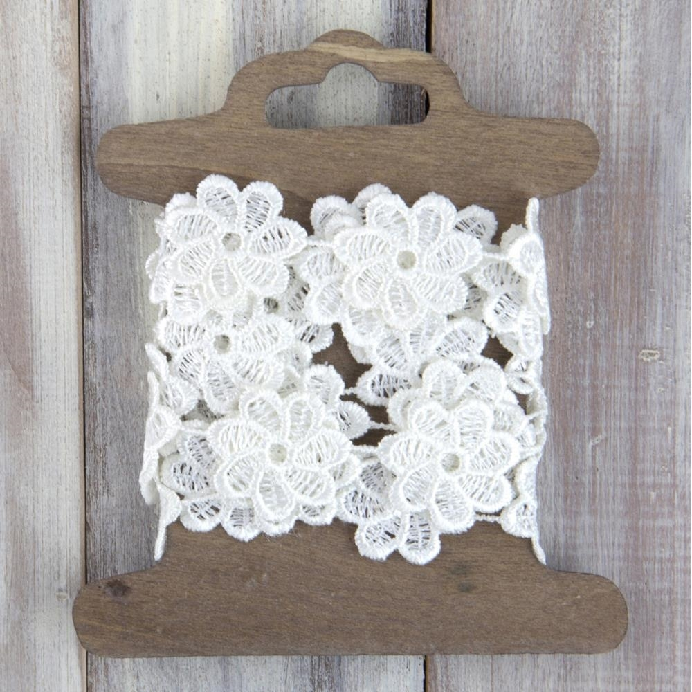 Prima Marketing POSEY Floral Lace Trim 583033 zoom image