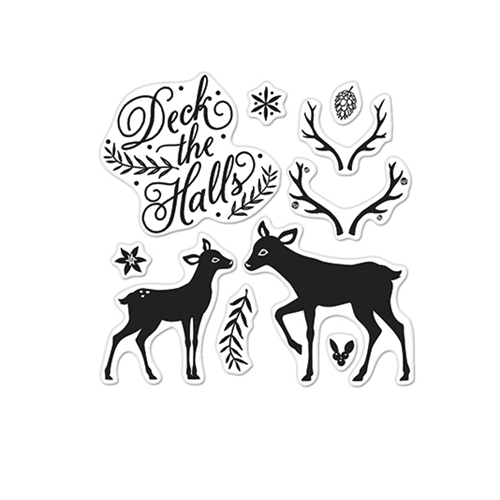 Hero Arts Clear Stamps DECK THE HALLS BY LIA CL898 Lia Griffith Preview Image