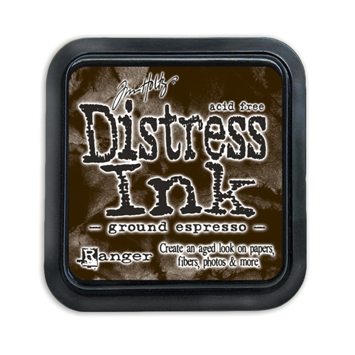 Tim Holtz Distress Ink Pad GROUND ESPRESSO Ranger TIM43270 Preview Image