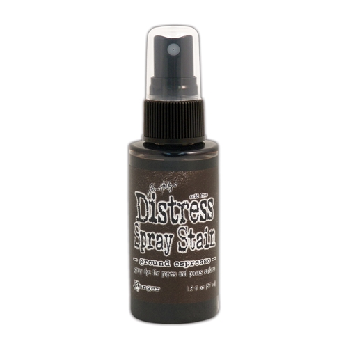 Tim Holtz Distress Spray Stain GROUND ESPRESSO Ranger TSS44161 Preview Image