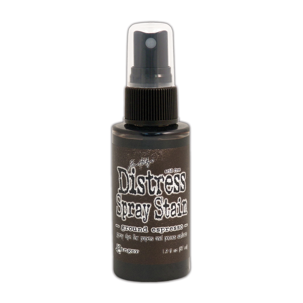 Tim Holtz Distress Spray Stain GROUND ESPRESSO Ranger TSS44161 zoom image