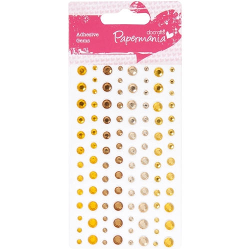DoCrafts SUNSHINE CAPSULE Adhesive Gems Papermania 351414 Preview Image
