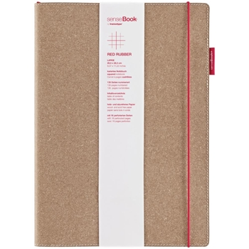 Copic senseBook SQUARE RED RUBBER 8 x 11 Inches 75020402