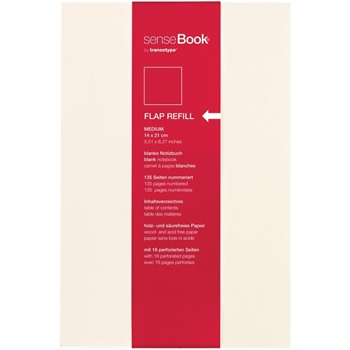 Copic senseBook BLANK FLAP REFILL 6 x 8 Inches 75510500