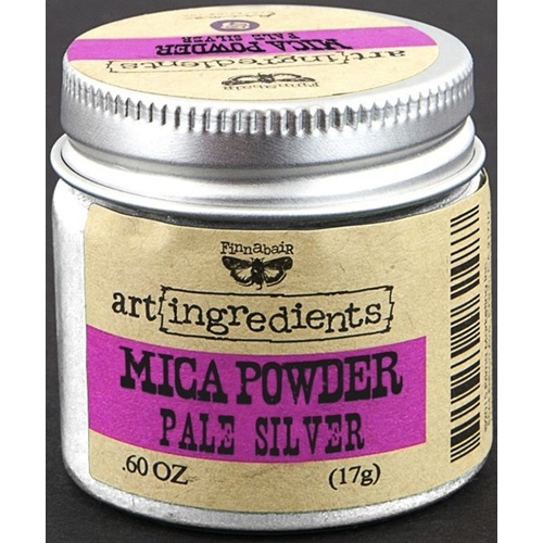 Prima Marketing PALE SILVER Art Ingredients Mica Powder 962517 Preview Image