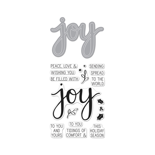 Hero Arts JOY Coordinating Stamp And Die Set DC169 Preview Image