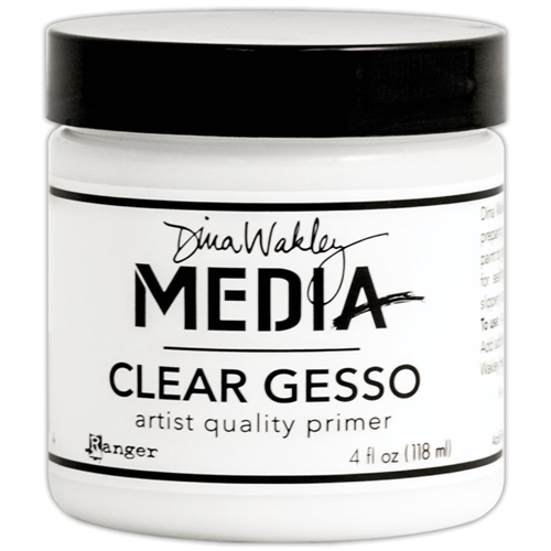 Dina Wakley Ranger CLEAR GESSO 4 OZ Jar Media MDM46424 Preview Image