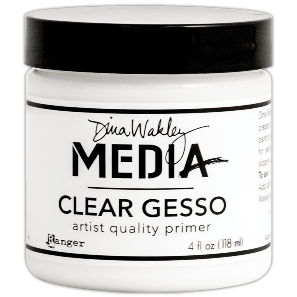 Dina Wakley Ranger CLEAR GESSO 4 OZ Jar Media MDM46424 zoom image