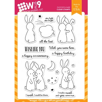 Wplus9 WISHING YOU Clear Stamps CLWP9WY