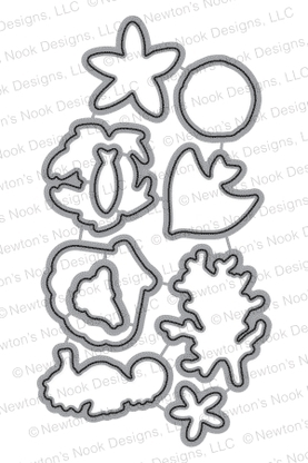 Newton's Nook Designs TRANQUIL TIDES DIE Set 20150803 Preview Image