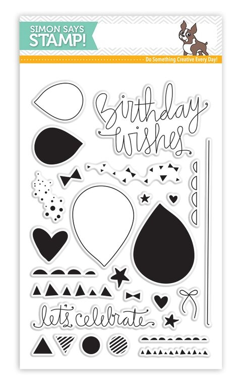 Simon Says Clear Stamps BIRTHDAY BITS sss101544 zoom image