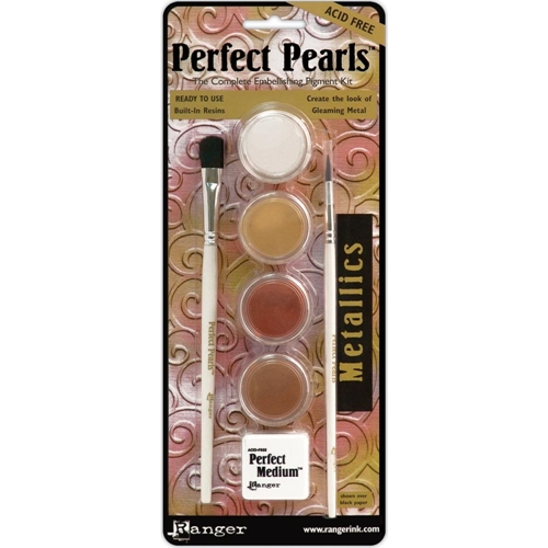 Ranger Perfect Pearls METALLICS Complete Pigment Kit PPP15963 Preview Image