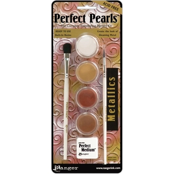 Ranger Perfect Pearls METALLICS Complete Pigment Kit PPP15963