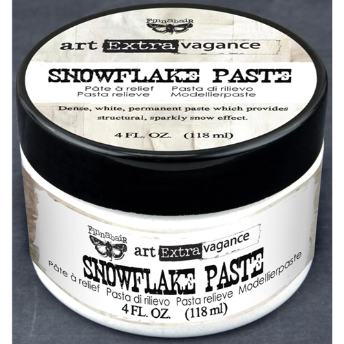 Prima Marketing SNOWFLAKE PASTE Finnabair Art Extravagance 962906 Preview Image