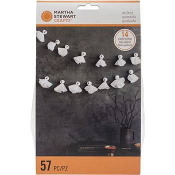 Martha Stewart SPOOKY NIGHT GHOST GARLAND 48-20426