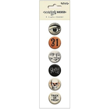 My Mind's Eye SOMETHING WICKED Flair Buttons SW1017*