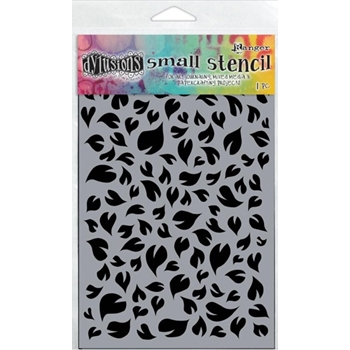 Dyan Reaveley Stencil 5 x 8 LEAVES SMALL Dylusions DYS47100