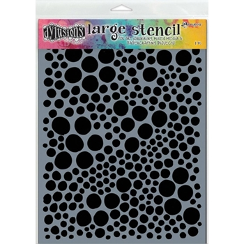 Dyan Reaveley Stencil 9 x 12 HOLES LARGE Dylusions DYS47049