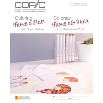 Copic Marker COLORING FACES AND HAIR Book 005613