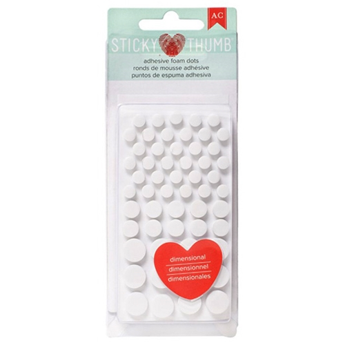 Sticky Thumb ADHESIVE FOAM DOTS American Crafts 340272 Preview Image