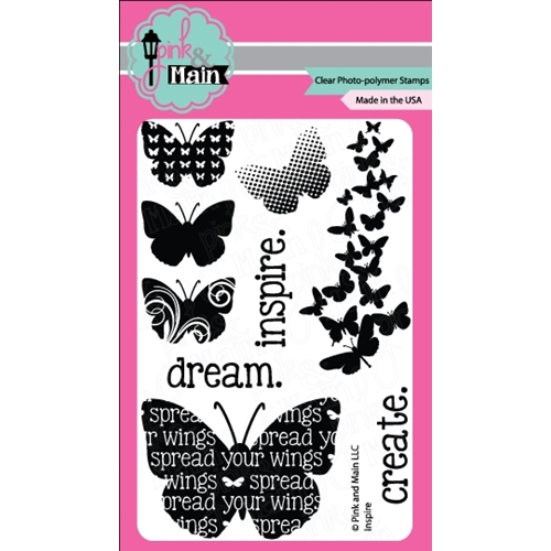 Pink and Main INSPIRE Clear Stamp Set 021002 Preview Image