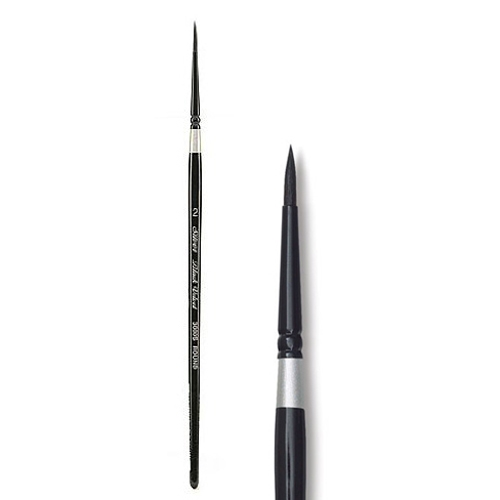 Silver BLACK VELVET Brush Size 2 Round 300527 Preview Image