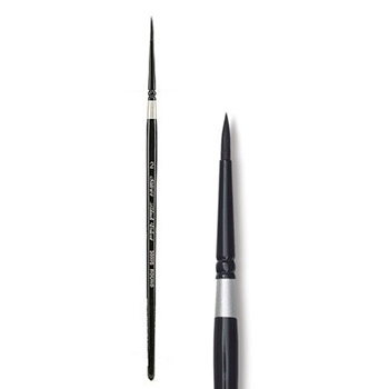 Silver BLACK VELVET Brush Size 2 Round 300527