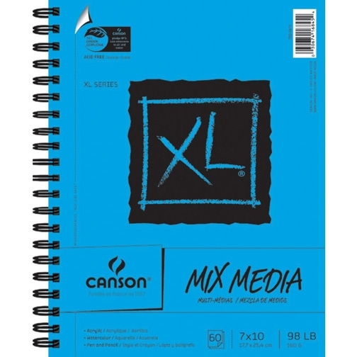 Canson MIX MEDIA PAPER PAD 7x10 7022419 zoom image