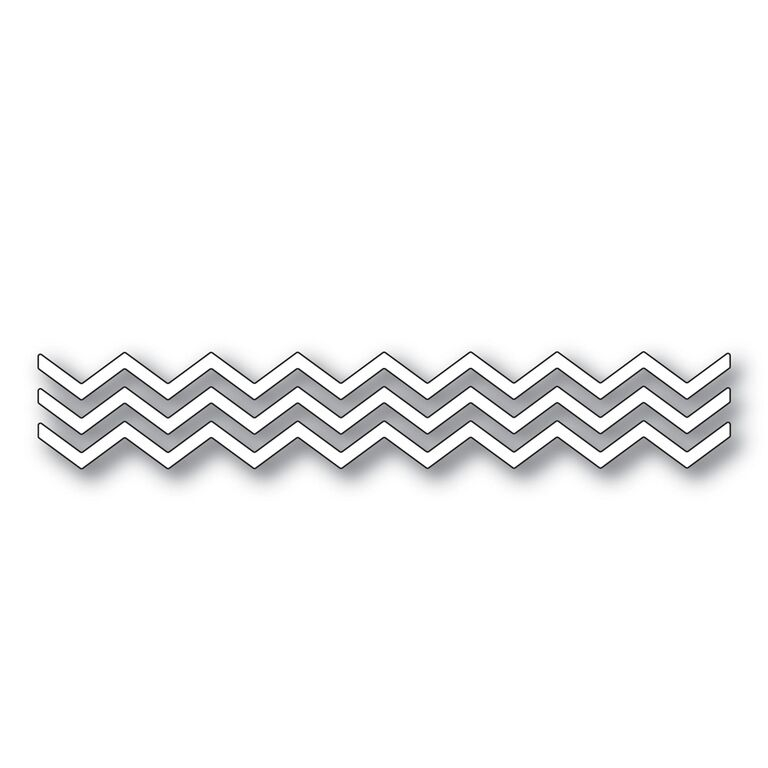 Simon Says Stamp SMALL CHEVRON STRIPES Wafer Dies s283 zoom image