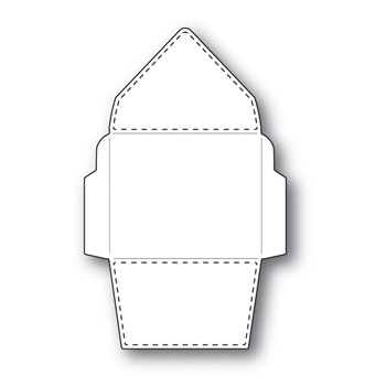 Simon Says Stamp STITCHED Tiny ENVELOPE Wafer Die s288