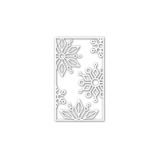 Simon Says Stamp SNOWFLAKE BLOCK Wafer Die sssd111504 Preview Image