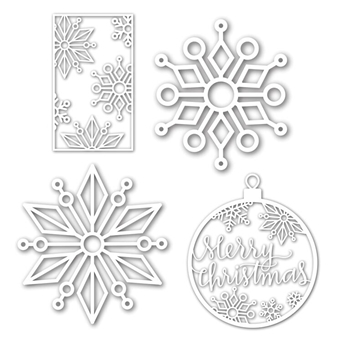 Simon Says ENCHANTED SNOWFLAKES Wafer Dies Set SetES226 STAMPtember
