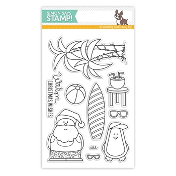 Simon Says Clear Stamps WARM CHRISTMAS WISHES sss101550
