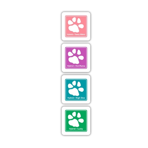 Simon Says Stamp Hybrid Ink Pad Cube Set ISLAND CRUSH IC8 Preview Image