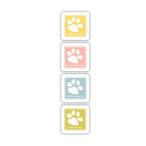 Simon Says Stamp Hybrid Ink Pad Cube Set SUNNY DAYS SD06 Preview Image