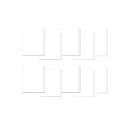 Simon Says Stamp White 4 Bar Scored Cards 120# 10 Pack Preview Image