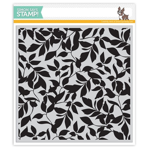 Simon Says Cling Stamp LEAVES BACKGROUND sss101529 Preview Image