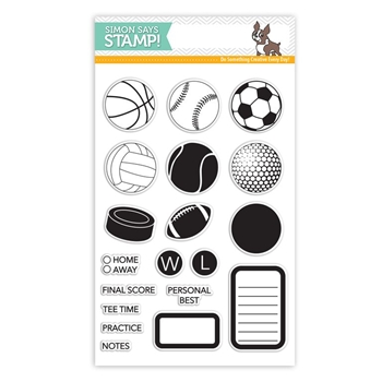 Simon Says Clear Stamps SPORTS and PLANNER sss101539 *