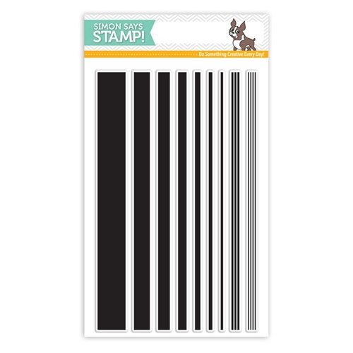 Simon Says Clear Stamps BASIC STRIPES sss101528 Preview Image
