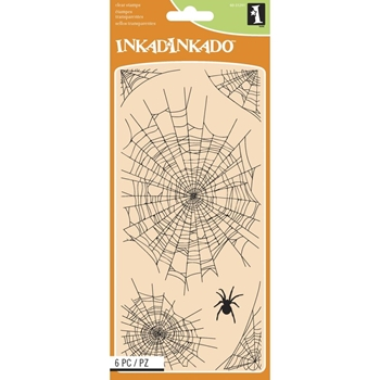 Inkadinkado Clear Stamp SPIDERWEBS 60-31291